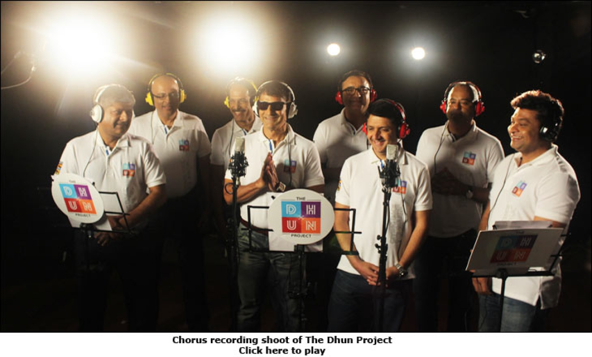 Media honchos sing to the tune of Sony Mix's DHUN