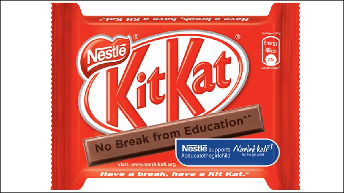 Nestlé changes packaging of its brands to support girl child education