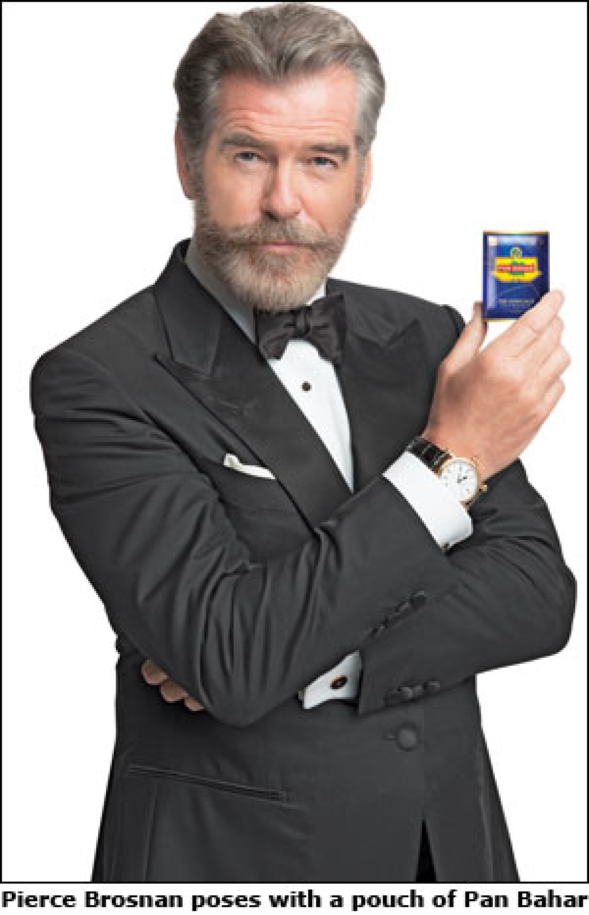 """""""Pan masala category suffers from baggage of gutka players"""": Pan Bahar CEO on why Pierce Brosnan ads got trolled"""