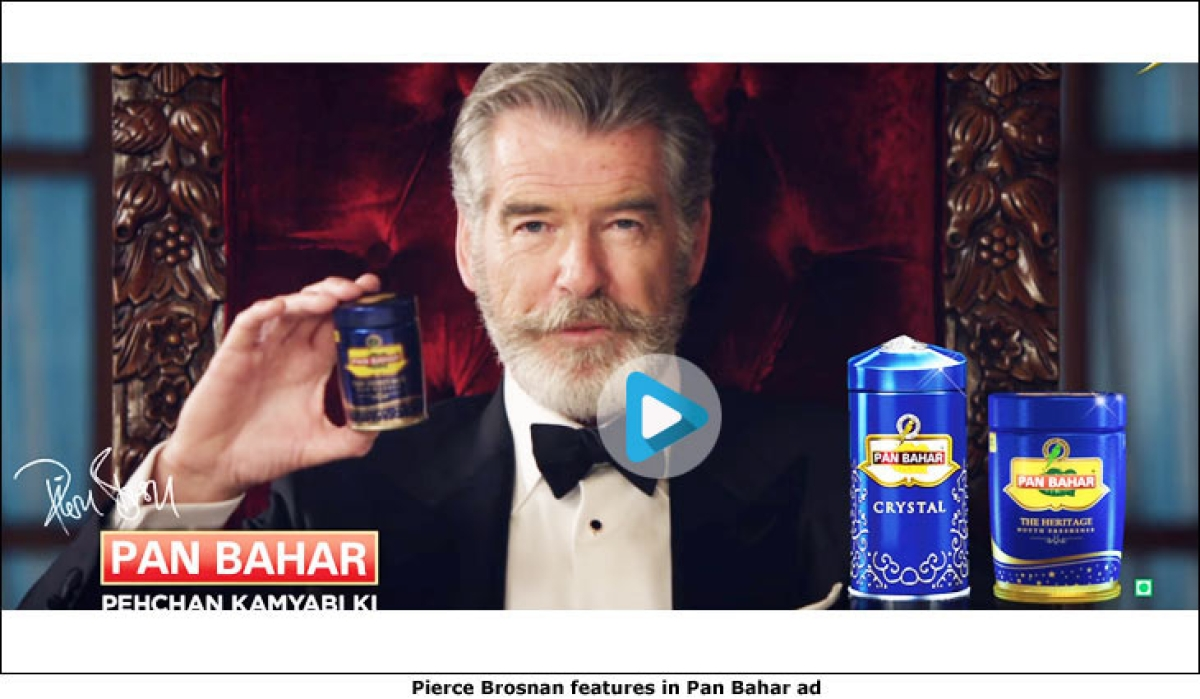 Has Pierce Brosnan asked Pan Bahar to withdraw ads featuring him?