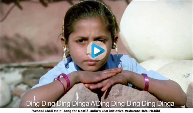 Nestlé goes 'Ding Ding Dinga' in new anthem
