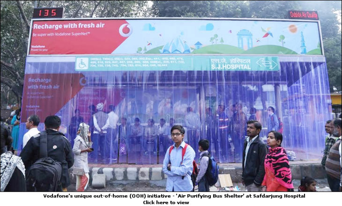 Vodafone helps Delhities breathe-in a sigh of relief