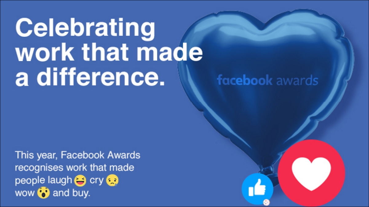 Love, Laugh, Cry, Wow and Buy: Facebook Awards 2017 is all about the work that moved people!