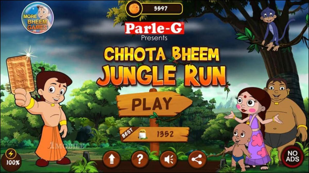 As Chhota Bheem bathes in Dettol...