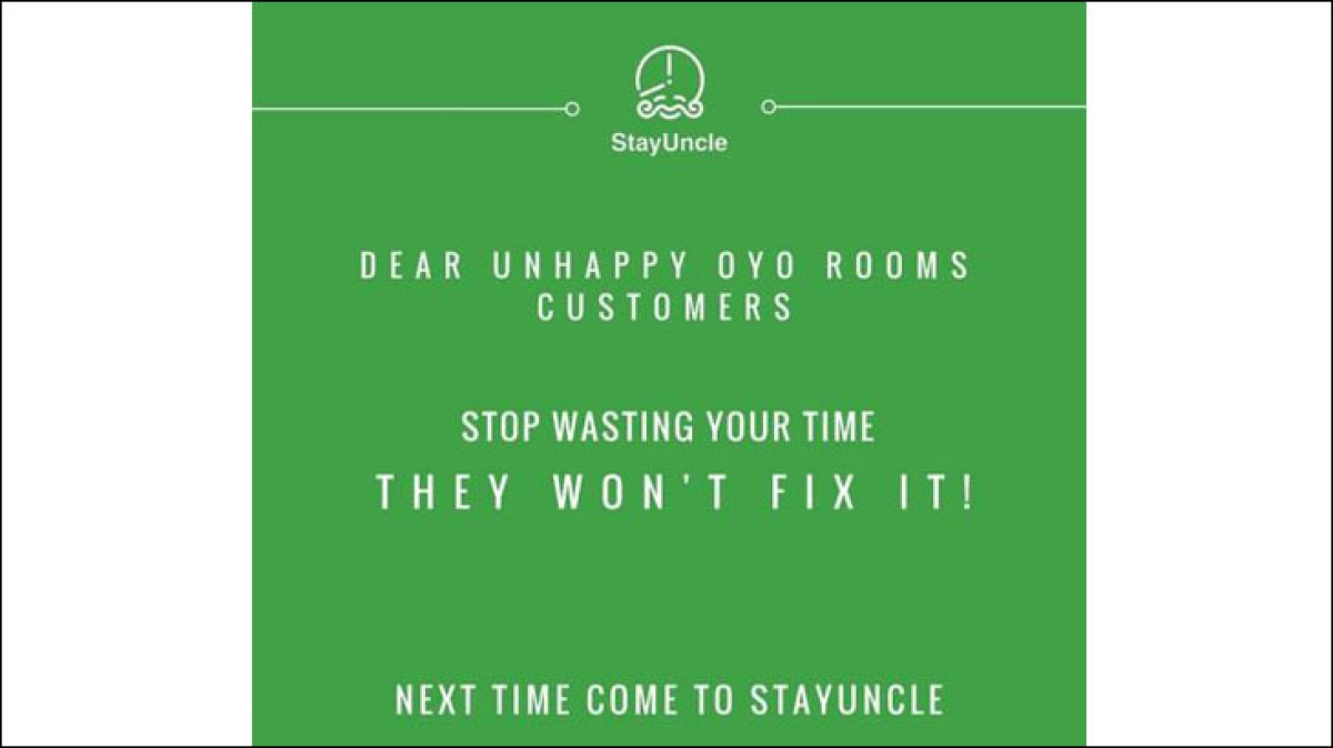This brand thinks OYO Rooms is its biggest competitor...