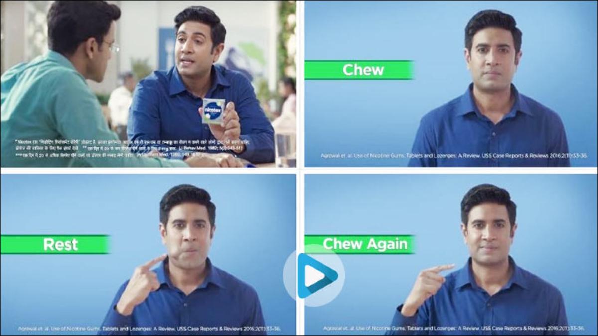 """Nicotex looks like regular chewing gum; consumers tend to chew it like that..."""
