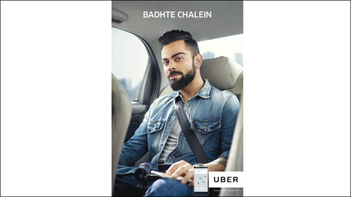 """Virat uses Uber when he is abroad"": Sanjay Gupta, the brand's marketing boss"