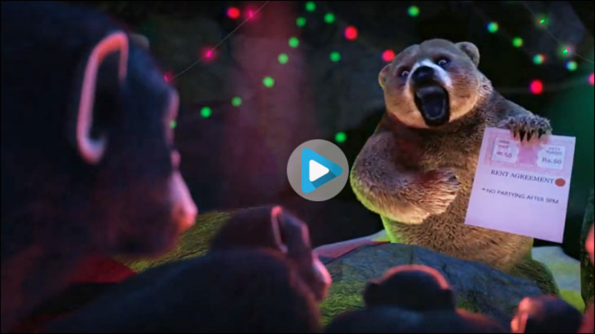 Britannia's latest digital ad mimics an animated movie trailer