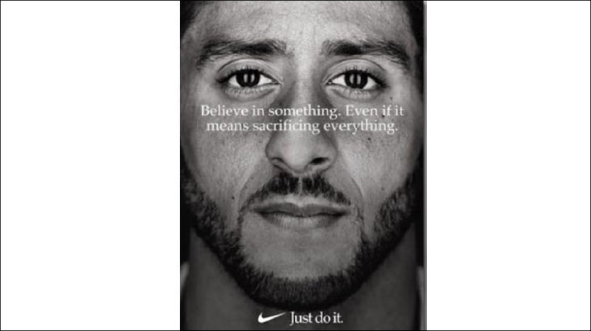 Colin Kaepernick, the face of Nike - why the brand just had to do it