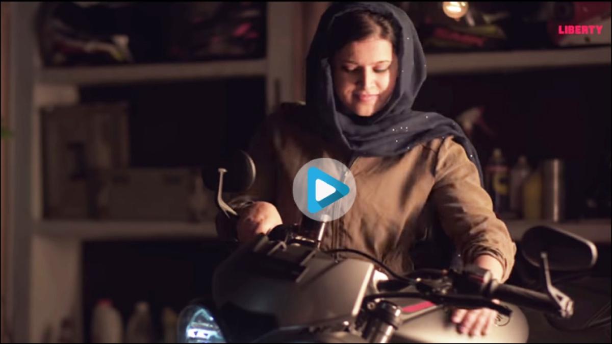 Meet Liberty Shoes' Hijabi Biker