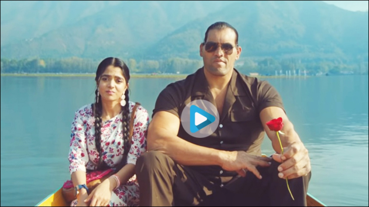 The Great Khali is back in adland, this time for Nestle Munch...