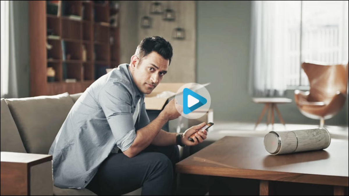 "Dhoni teases ""fans"" in Orient Electric's latest campaign"