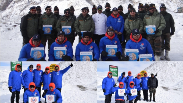 Domino's delivers 4,000 pizzas to Siachen Glacier