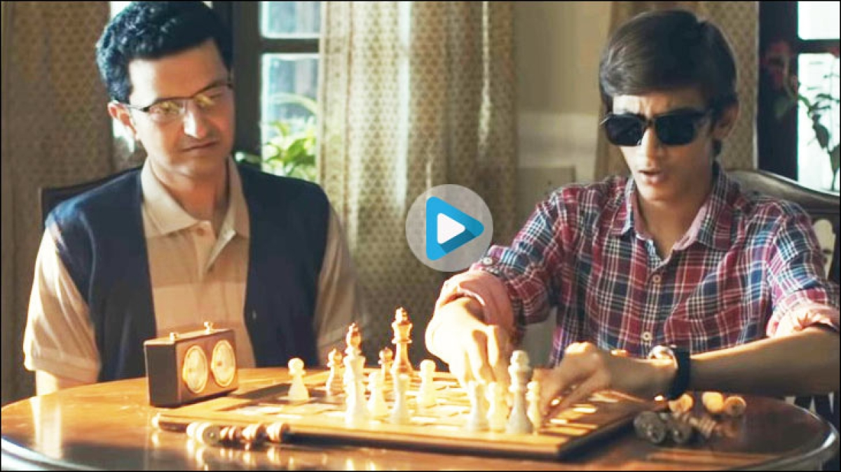 This ad is based on the story of a visually-impaired chess champion