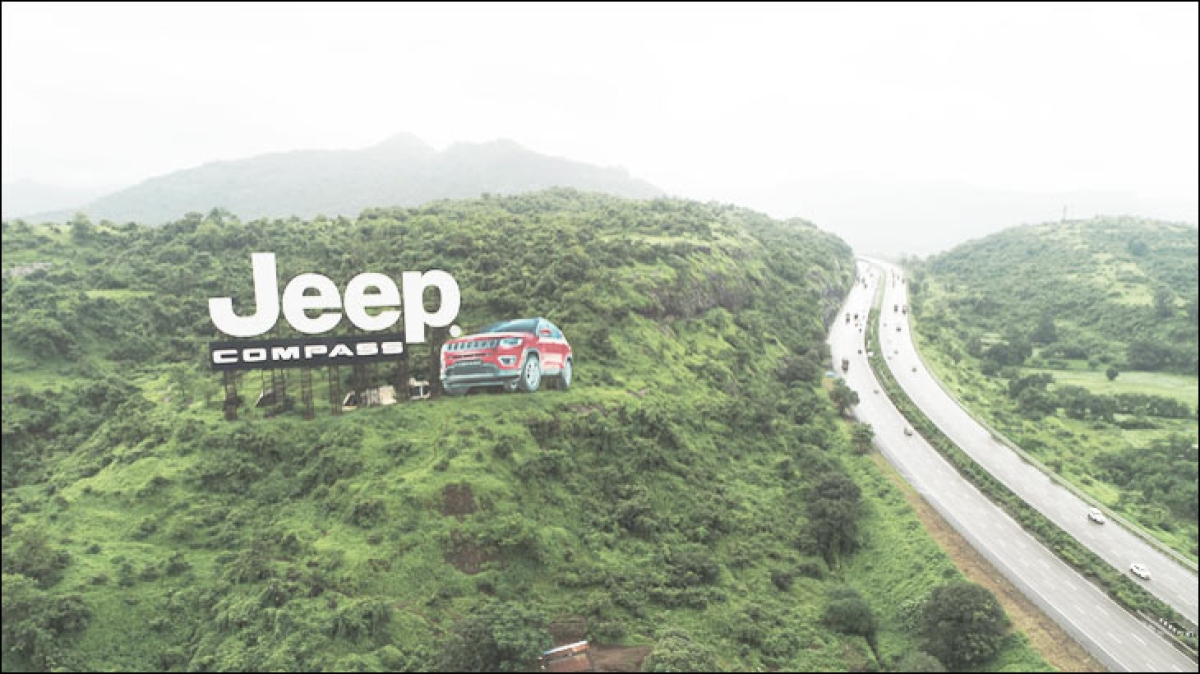 Jeep India's outdoor installation makes it to Asia Book of Records