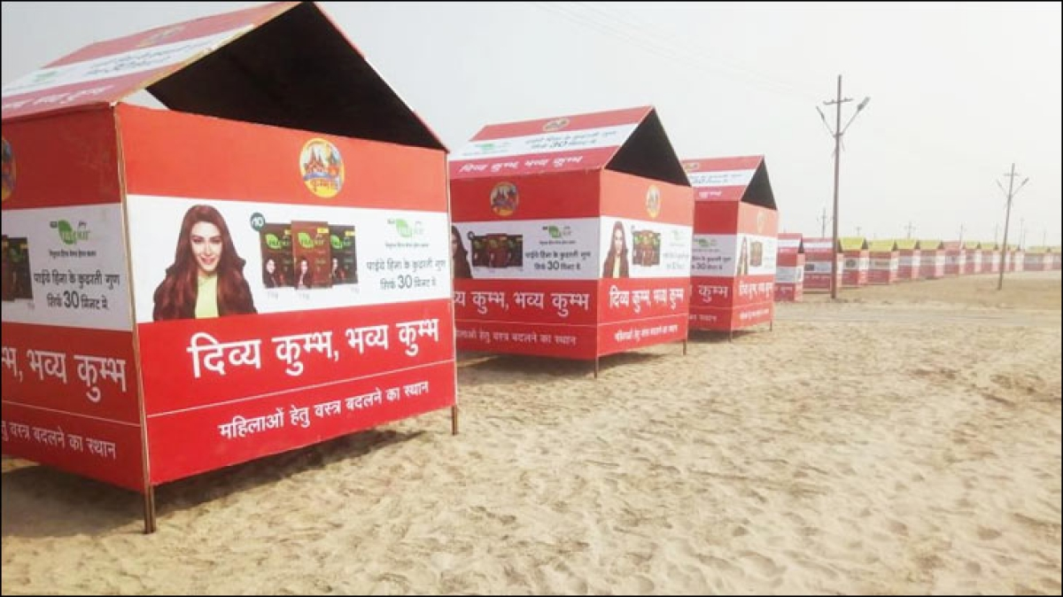 Brands at Kumbh: A story in pictures