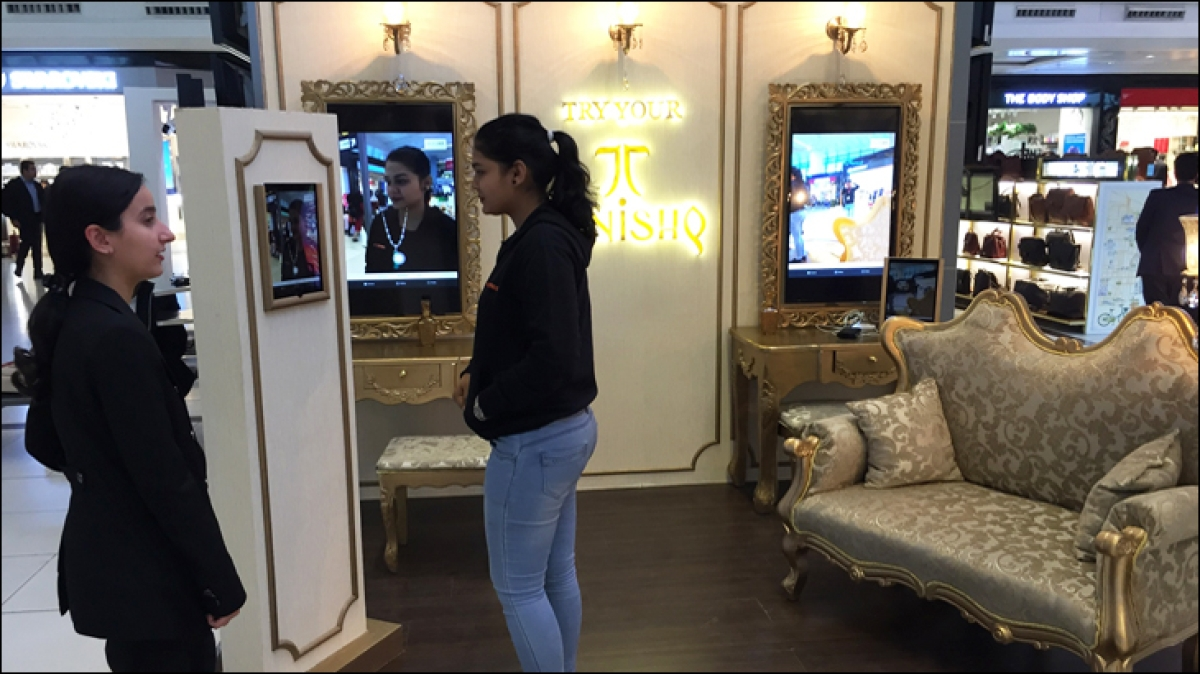 Tanishq leverages augmented reality at airport kiosks