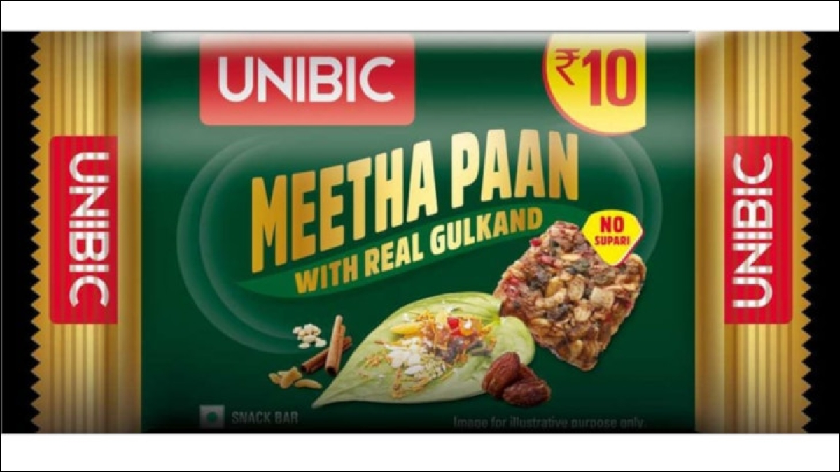 Paan flavoured snack bars?