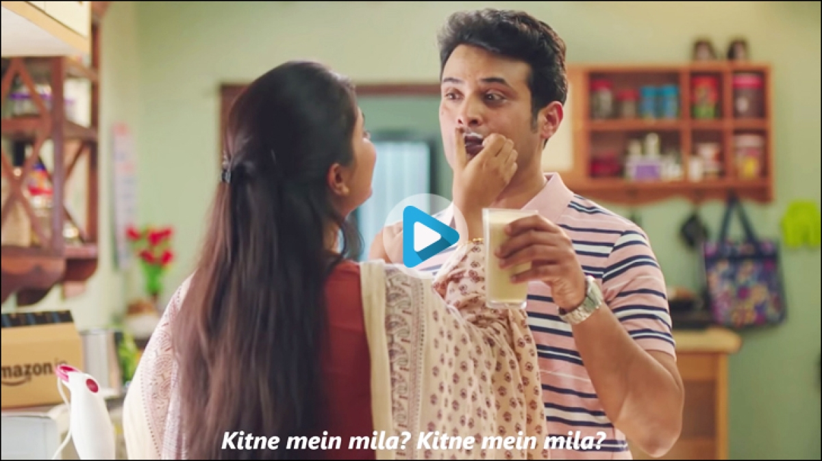 """Amazon is back with a new catchphrase - """"Kitne Mein Mila"""""""
