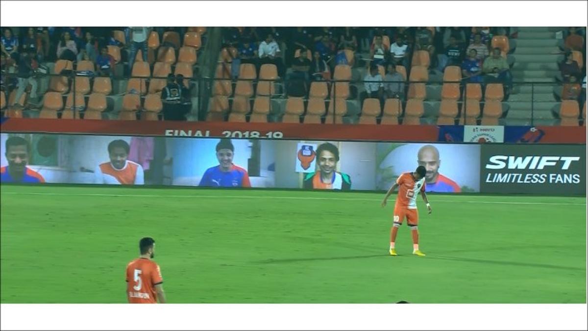 "Maruti Suzuki provides ISL fans ""The Best Seats"" in the stadium"