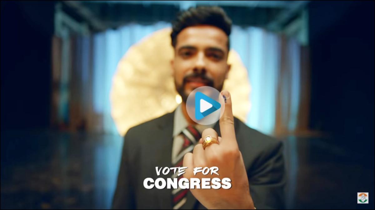Congress' #AbHogaNyay and BJP's #PhirEkBaarModiSarkar, in songs
