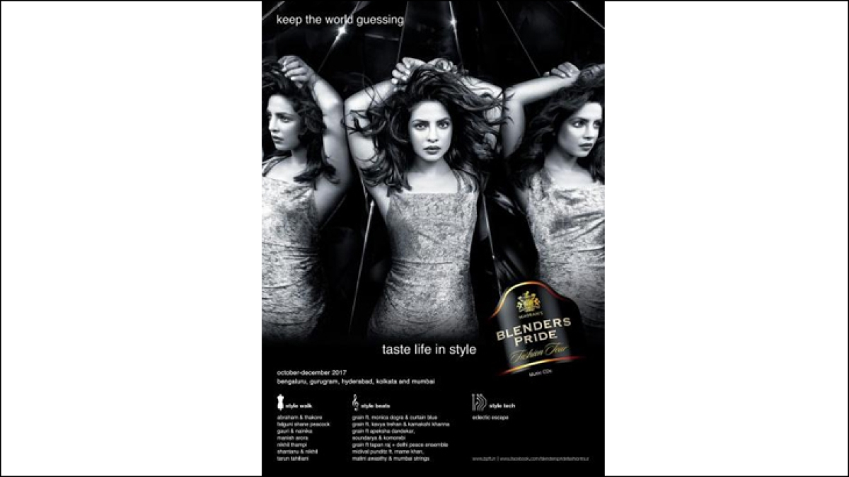 Alcohol brand Absolut India's stylised take on racism...
