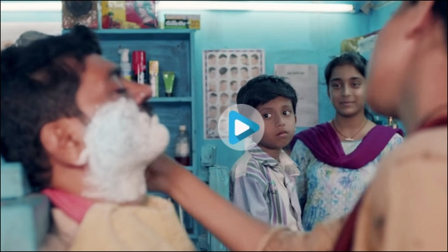 P&G's Gillette brings a story from rural India to shave