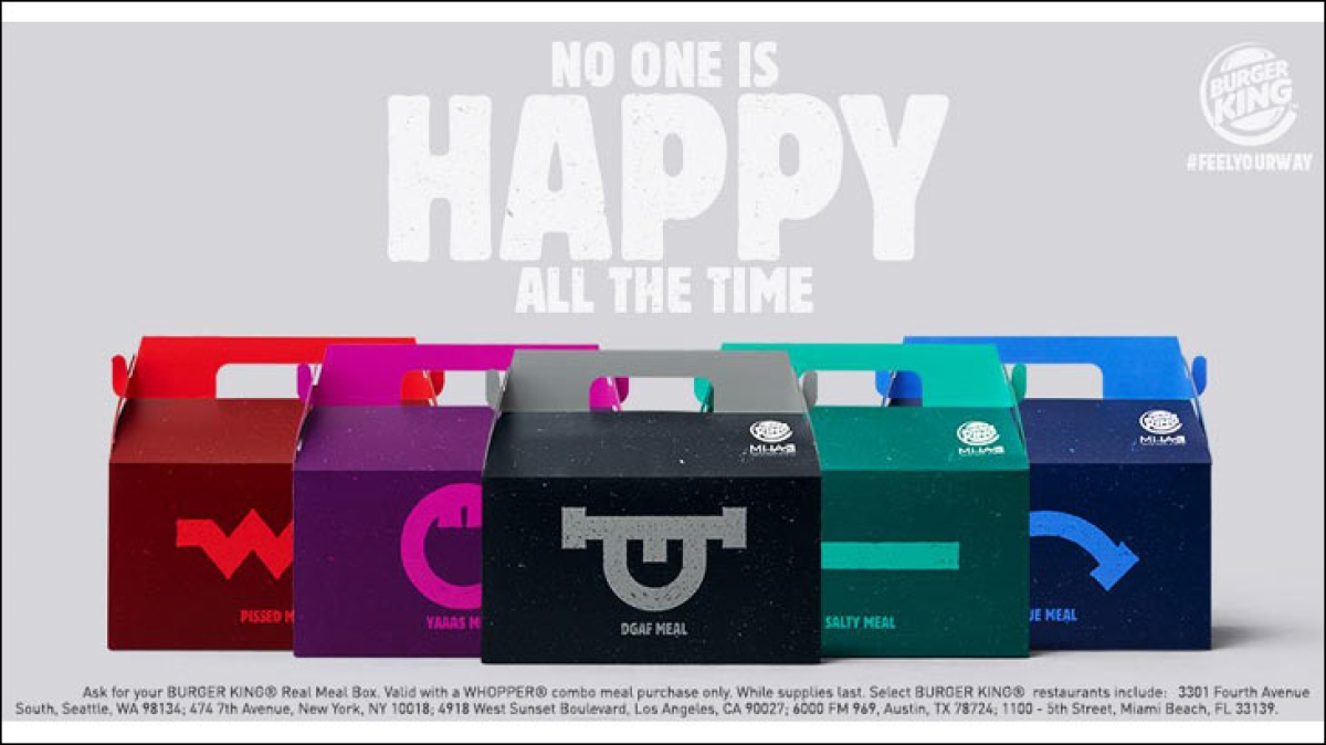 Burger King has unhappy meals for unhappy customers