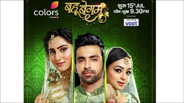 Three lives bound together by one Nikaah, COLORS presents Bahu Begum