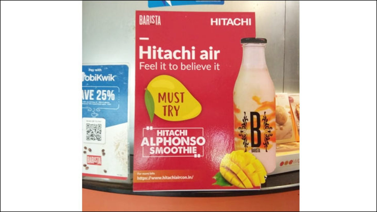 Why is Hitachi trying to sell mango smoothies?