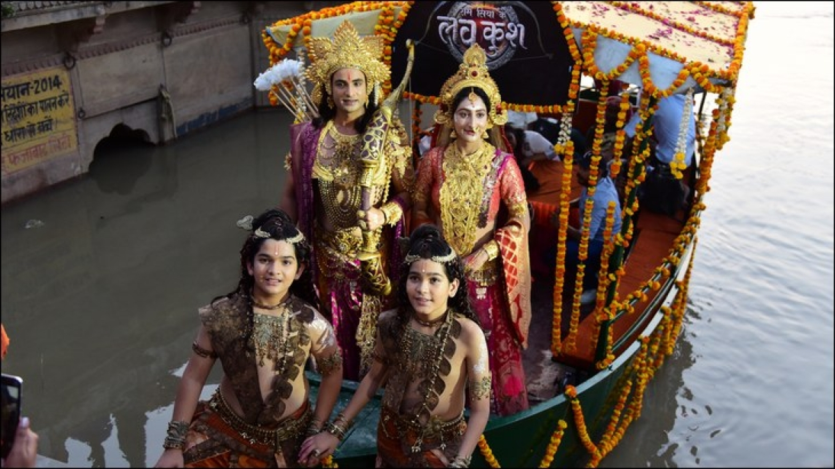 COLORS narrates the epic Ramayana through the voice of Luv Kush
