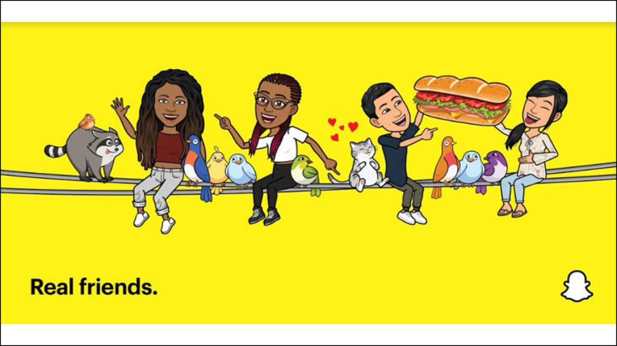 Snapchat's 'Real Friends' campaign takes a dig at Instagram