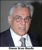 diwan arun nanda chairperson and managing director