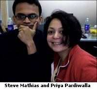 Steve Mathia and Priya Pardiwalla