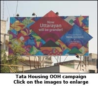 Tata Housing OOH Campaign