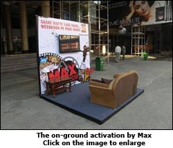 Max on-ground activation