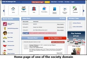 Society Domain Home Page