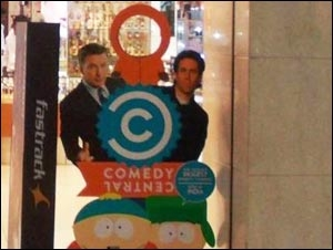 Comedy Central OOH