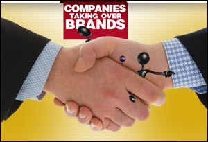 Companies taking ove Brands