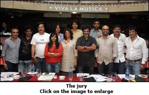 Mirchi Kaan Awards Jury