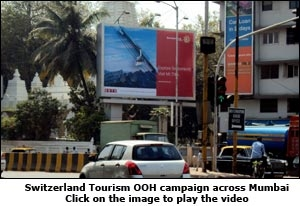 Switzerland Tourism OOH Campaign