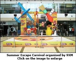 Summer Escape carnival