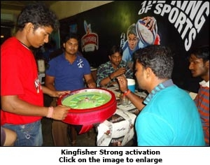 Kingfisher strong activation