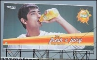 Frooti OOH Campaign