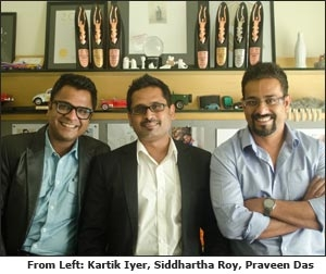 Kartik Iyer, Siddhartha Roy and Praveen Das