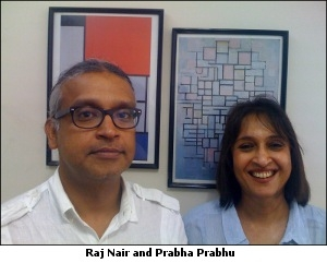 Raj Nair and Prabha Prabhu