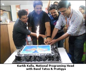 Kartik Kalla, National Programing Head with Band Tatva & Pratigya