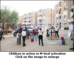 M-Seal activation
