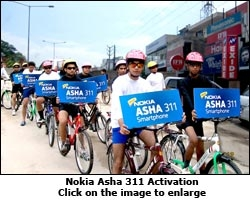 Nokia Asha 311 Activation