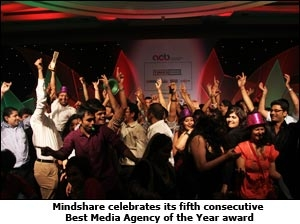 Mindshare celebrates its fifth consecutive Best Media Agency of the Year award